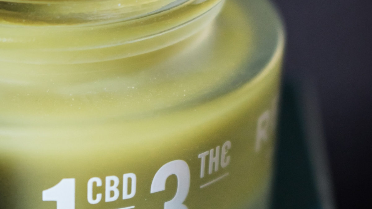 cannabis-infused topical balm