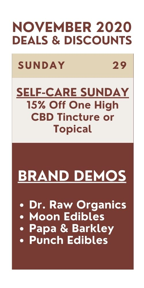 self care sunday - 15% off one high cbd tincture or topical